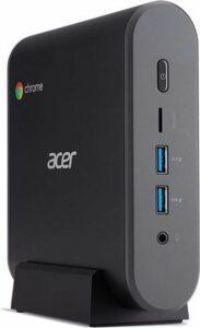 Acer Chromebox CXI3 Intel® 8de generatie Core™ i3 i3-8130U 8 GB DDR4-SDRAM 64 GB SSD mini PC Zwart Chrome OS