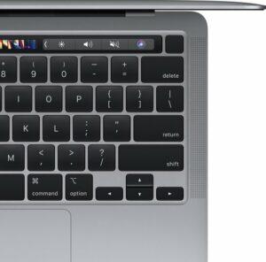 Apple MacBook Pro toetsenbord en touchpad