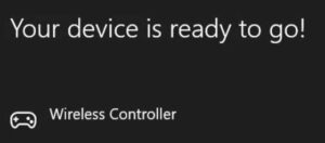 Een PS4-controller op Steam gebruiken - apparaat gereed