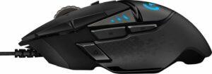 Logitech G502 Proteus Core Gaming muis review