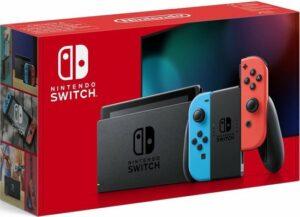 Nintendo Switch console - Rood-Blauw