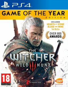 The Witcher 3 Wild Hunt - Game of The Year Edition - PS4